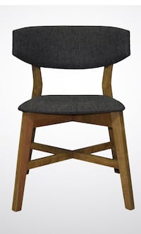 High end custom wood dining chairs. Gorgeous x6 MONTREAL