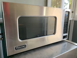 Viking microwave stainless steel