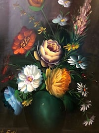 Magnificent very large STILL LIFE Oil Painting