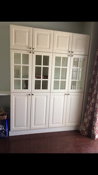 white wooden wardrobe with mirror Kitchener, N2E 2C1
