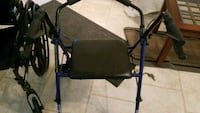 black and blue metal armchair Dunnellon, 34431