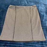Grey stretchy skirt Sz L Toronto, M2N 7C2