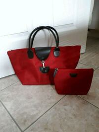 New purse with matching pouch Pointe-Claire