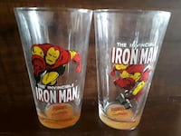 2010 Marvel's The Invincible Iron Man glasses. Whitby, L1P 1A1