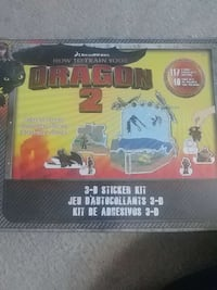 How to train your dragon 3-d sticker kit Toronto, M1B 2J6