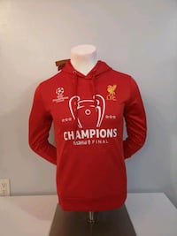 Liverpool Champions Leauge Champions Hoodie Mississauga, L5B 4P5