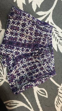 women's white and purple floral shorts Oakville, L6L