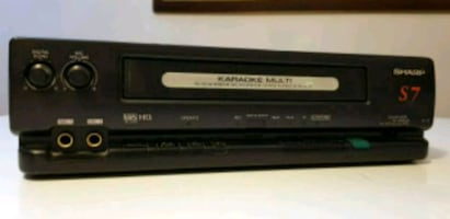 VHS Player Teyp Recorder + Kareoke