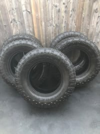 5 Goodyear Duratrac Mud+Snow Tires LT 325 65 18  Lots of tread still remaining $650 for all 5 Hamilton