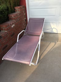 Telescope Casual Adjustable Chaise Lounge Chair In A Light Purple Color $80 OBO! Long Beach, 90815