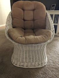 Vintage WICKER CHAIR Edmond, 73034