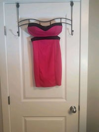 Black and pink tube dress size small to medium  Calgary, T2G