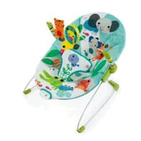 baby's white and green bouncer Ocala, 34471