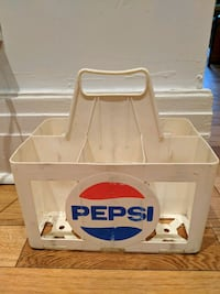 Old pepsi bottle holder