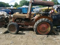 brown and black tractor with plow blade Plainfield, 06354
