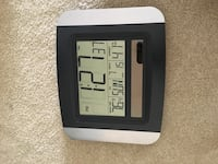 Solar Atomic Wall Clock Ashburn, 20147