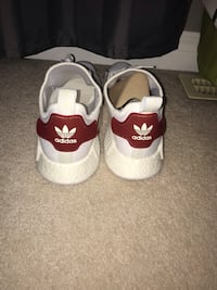 pair of white-and-red Air Jordan shoes Barrie, L4N 0K6