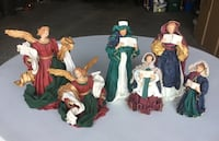 three assorted ceramic figurine collection Wainfleet, L0S