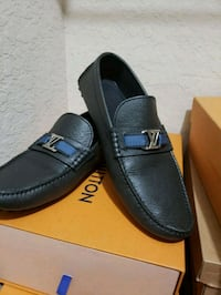 pair of black leather loafers Greenacres, 33463