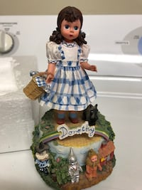Rare Authentic Madame Alexander Wizard Of Oz Dorothy Music Box Bakersfield, 93314