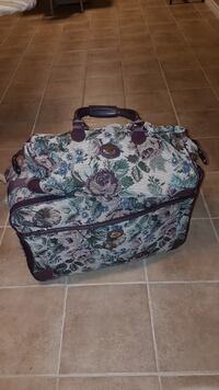 Floral Suitcase & Overnight Bag
