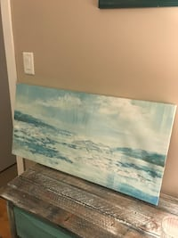 Abstract oceanic painting wall decor 2  Burnaby, V5C