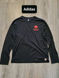 Adidas Canada Black Long Sleeve Shirt - Mens XL Toronto, M1S 5B2