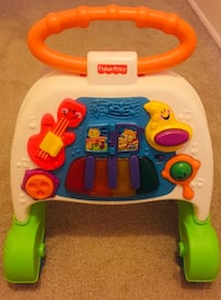 baby's white and green Fisher Price learning walker Lansford, 18232