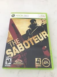 The Saboteur for Xbox 360 Whitby