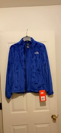NEW w/tags The North Face Osito Fleece Jacket Vibrant Blue Size M Norwood, 02062