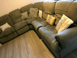 Pull Out Wraparound Sofa