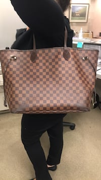 Damier Ebene Louis Vuitton tote bag Reston, 20190