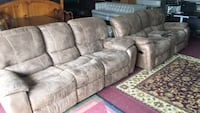 brandnewcouchwithreclinersandloveseatthatreclineandrock Plant City, 33565