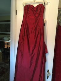 Cranberry Jessica McClintock ball gown with bustle and train. Never worn. Size 8 Chevy Chase, 20815
