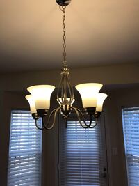 black and white uplight chandelier Ashburn, 20147