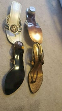 2 pair of sandals. Size 8