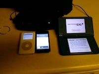 Nintendo ds i xl 2 ipods and a i home speaker Portsmouth, 23707