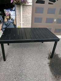 Outdoor Table Steel - Garden Treasures Brantford, N3S