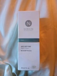 Nerium age defying night cream factory sealed Triangle, 22172