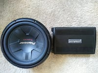 "Pioneer TS-W311S4 12"" Powerbass ASA3 400.1 Greensboro, 27401"