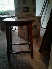 Nice Solid Wood Bar Stool $35. Firm Euless, 76039