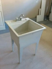 Laundry tub and faucet Surrey, V3S 0R2