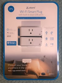 BN Atomi WiFi Smart Plug with built-in dual USB ports