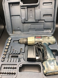 Roybi drill and case and extras