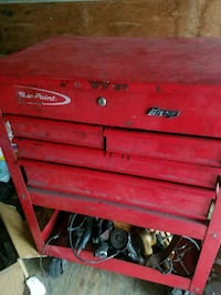 Snap on tool box no tools included