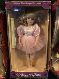 porcelain doll in pink dress New York, 10314