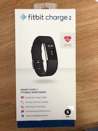 black Fitbit Charge 2 box