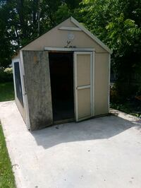 8x10 solid shed can drop off has electical Roslin, K0K 2Y0