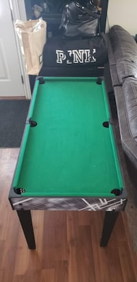 Pool table combination game table