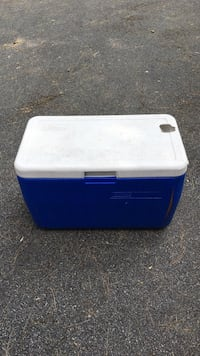 Coleman cooler.  Has hole in top but not through insulation  Ballston Spa, 12020